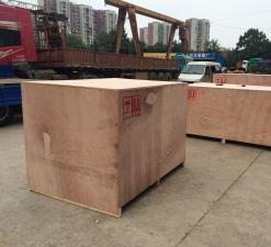 出口货物木箱包装